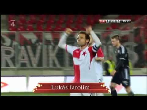 Všechny vst�elené góly týmu SK Slavia Praha v jarní �ásti 1. Gambrinus ligy v sezon� 2011/2012 podzimní góly (2011): http://www.youtube.com/watch?v=_gD0ROJDCYE St�elci branek:...