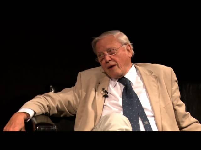 Jim meets Sir David Attenborough | University of Surrey