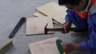 Xuất khẩu lao động - Thực tập sinh thi kĩ năng đóng hộp gỗ P1