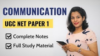 NTA UGC NET Paper 1- Communication (Crash Course)