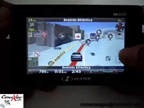 Atualização Gps 2014 H Buster IGO 8 com 4 mapas do Brasil e radares atualizados.