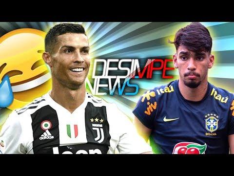 Cristiano Ronaldo zoa repórter e Paquetá não deve ficar no Flamengo em 2019 Vídeos de zueiras e brincadeiras: zuera, video clips, brincadeiras, pegadinhas, lançamentos, vídeos, sustos