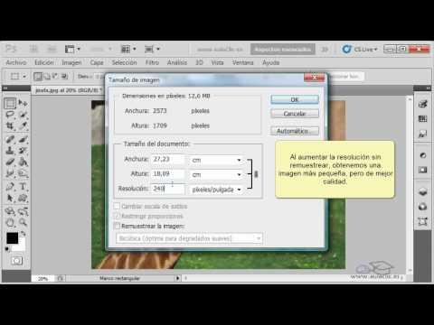 Curso de Photoshop CS5.  11. Imprimir imágenes.