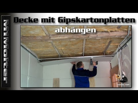 gipskartonplatten videolike. Black Bedroom Furniture Sets. Home Design Ideas