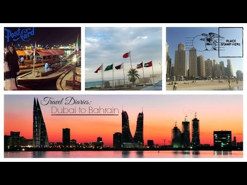 TRAVEL VLOG || ABAYA SHOPPING, JUMEIRAH BEACH, BAHRAIN