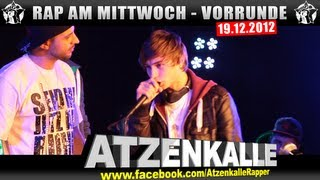 RAP AM MITTWOCH: 19.12.12 BattleMania Vorrunde (2/4) GERMAN BATTLE