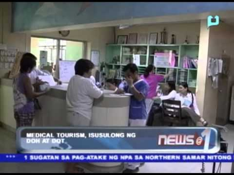 Medical tourism, isusulong ng DOH at DOT