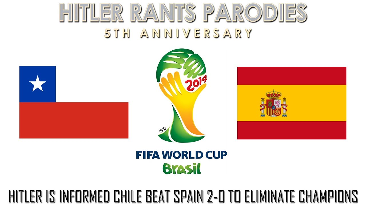 Hitler is informed Chile beat Spain 2-0 to eliminate champions