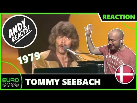 DENMARK EUROVISION 1979 REACTION: Tommy Seebach - Disco Tango | ANDY REACTS!