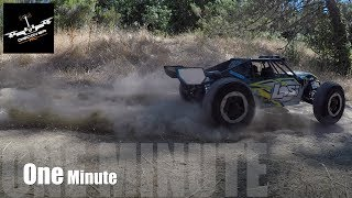 Losi Desert Buggy XL-E: One Minute Hill Climb.
