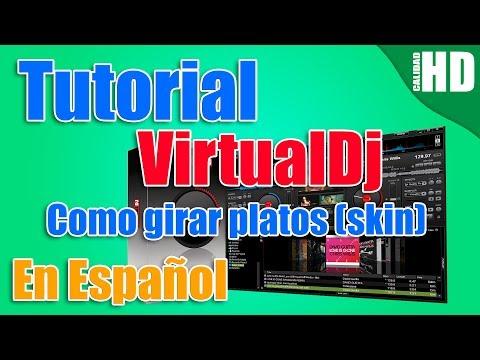 Como hacer girar los platos en un skin de VirtualDJ by Geniusilver