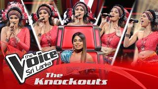 Rashini Imasha | Mashup | Denna Dena |  Pandama The Knockouts | The Voice Sri Lanka