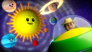Planets Song | Learning Videos For Children | Nursery Rhymes For Kids | Farmees