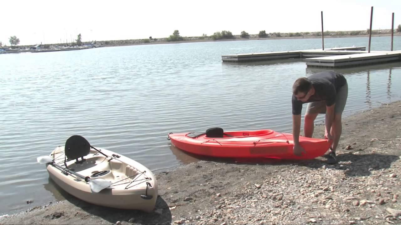 Lifetime Kayaks Sit On Top Vs Sit Inside Youtube