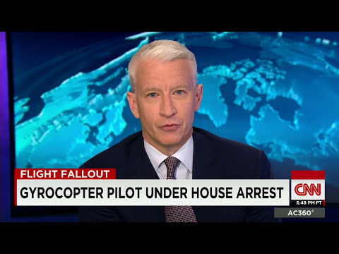 Gyrocopter pilot says he sent email warning