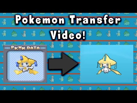 How To Transfer Pokemon To Generation 6 or higher!