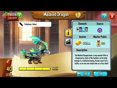 [PRIMAL] MASKED DRAGON REVIEW dragoncity