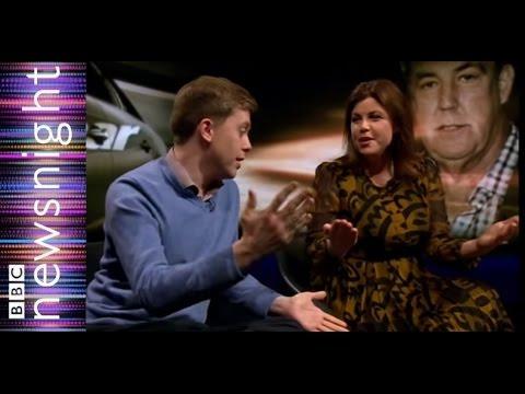 Kirsty Allsop and Owen Jones discuss Jeremy Clarkson - Newsnight