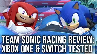 Team Sonic Racing: Switch Docked/Portable + Xbox One X/Xbox One Analysis!