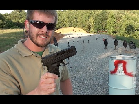 SPRINGFIELD XDs FIRST SHOTS / IMPRESSIONS