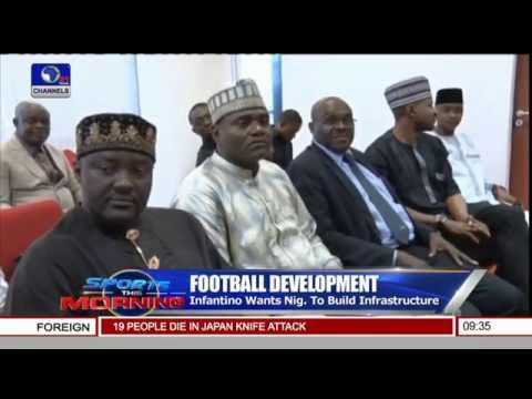 Sports This Morning: FIFA To Help Develop Football In Nigeria