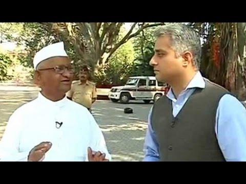 'Don't need a Kiran Bedi or Arvind Kejriwal,' says Anna Hazare