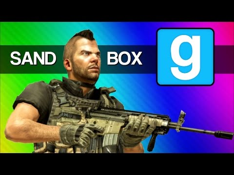 Gmod Call of Duty Modern War Fail - Pooptown, Supervillains (Garry's Mod Sandbox Funny Moments)