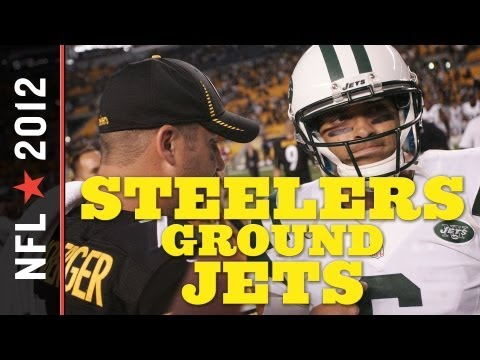 Jets vs. Steelers 2012: Ben Roethlisberger Outplays Mark Sanchez, Leads Convincing 27-10 Week 2 Win