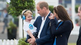 Prince George steals the show as he joins Kate and William for Royal Event