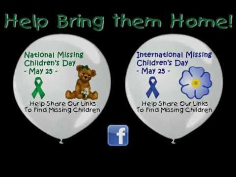 National Missing Children's Day | International Missing Children's Day 25 May 25th