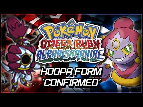 Pokémon Omega Ruby And Alpha Sapphire | Hoopa Form 'confirmed' video