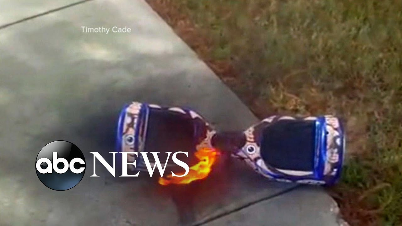 Some Hoverboards Catching Fire