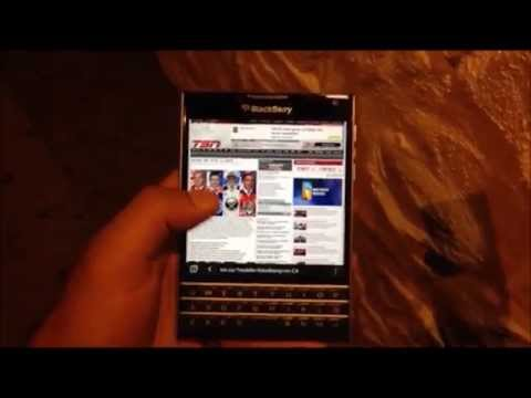 Quick Hands-On with the BlackBerry Passport