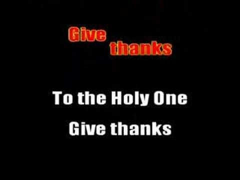 Give Thanks With A Grateful Heart video