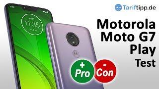 Moto G7 Play   Test deutsch