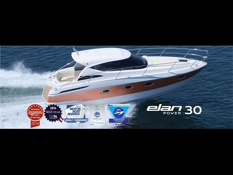 ELAN POWER 30  |  New Sports Cruiser available from Williams Yacht in Sydney
