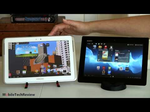 Samsung Galaxy Note 10.1 vs Sony Xperia Tablet S Comparison Smackdown