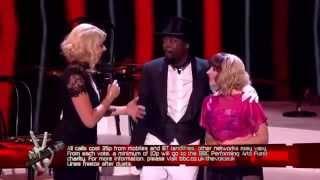 """Leah Mcfall and William """"BANG BANG""""   The Voice UK 2013"""