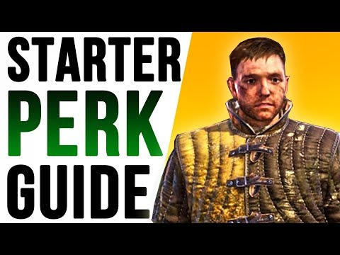 Kingdom Come Deliverance – Why Save PERK POINTS? (Starter Character Build Guide)