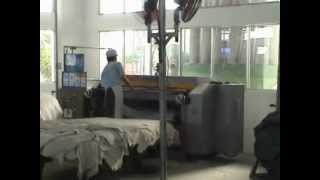 3H Buffing machine for leather hides