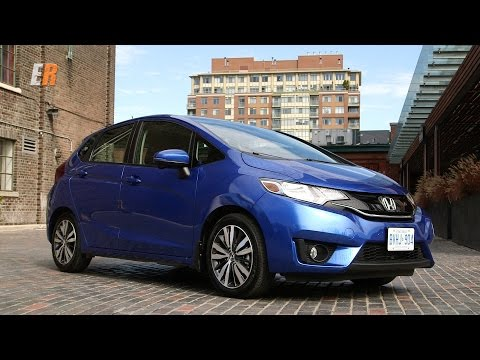 New - 2015 Honda Fit  Test Drive Review