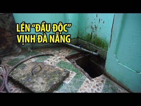 Thanh niên nửa đêm lén xả nhớt thải đầu độc vịnh Đà Nẵng | báo thanh niên