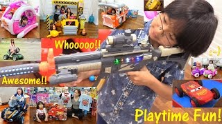 Kids' Toy Channel: Ride-On Power Wheels, Play Tents, Toy Guns, Disney Toy Cars, Toy Trucks and More!