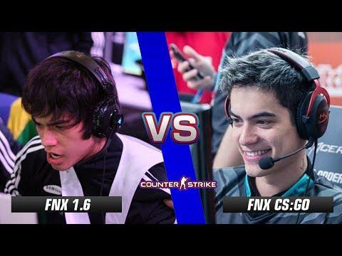 fnx CS 1.6 vs fnx CS:GO