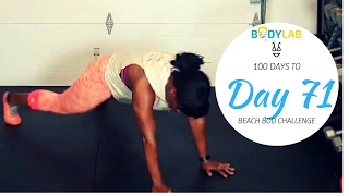 No Equipment HIIT Cardio and Core Ladder Workout | Day 71 | 100 Day To Beach Bod Challenge