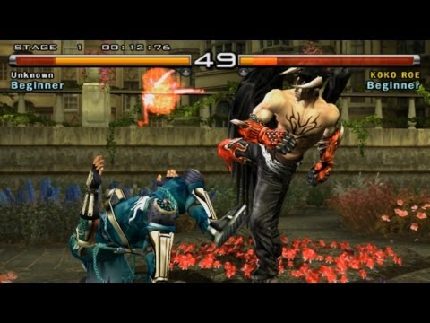 Tekken 5 1080p Running On Pcsx2 0.9.9 Svn - Wide Screen Patched video