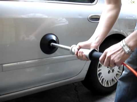 how to fix a dent in the wall video