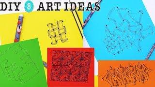 DIY 8 ART IDEAS | 365 Life Hacks