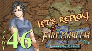 Let's Replay Fire Emblem: Genealogy of The Holy War PT46 - Heil Hydra[Ch. 9 4/4]