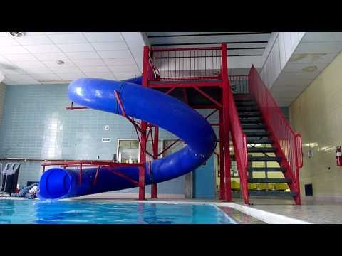YMCA Pool Slide